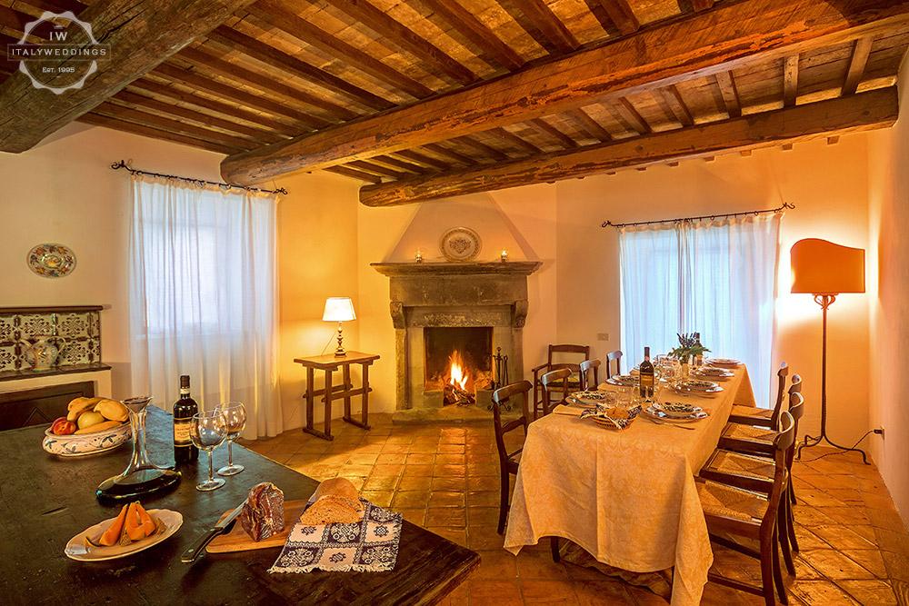 Umbria wedding villa
