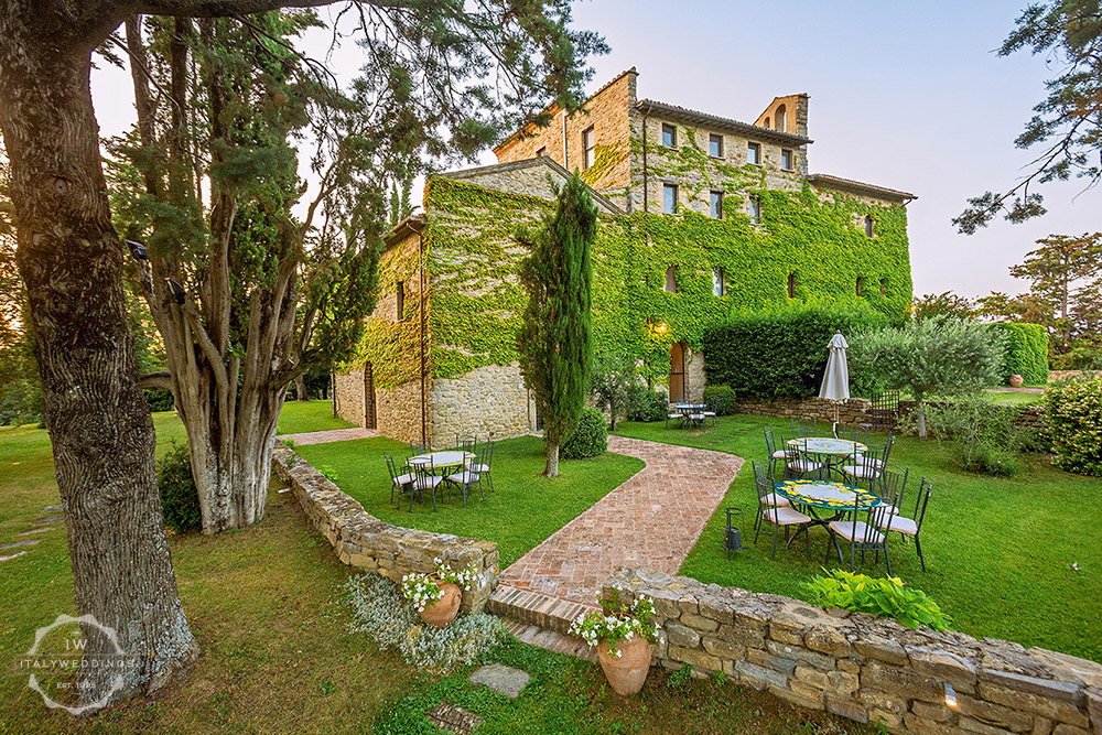 Umbria wedding villa