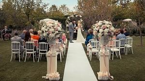 white blessing wedding