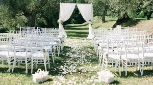 white wedding blessing