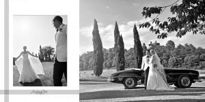 Charlotte and Karim Vintage Mercedes
