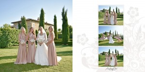 Charlotte and Karim bridesmaids