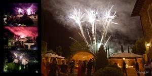 Charlotte and Karim fireworks