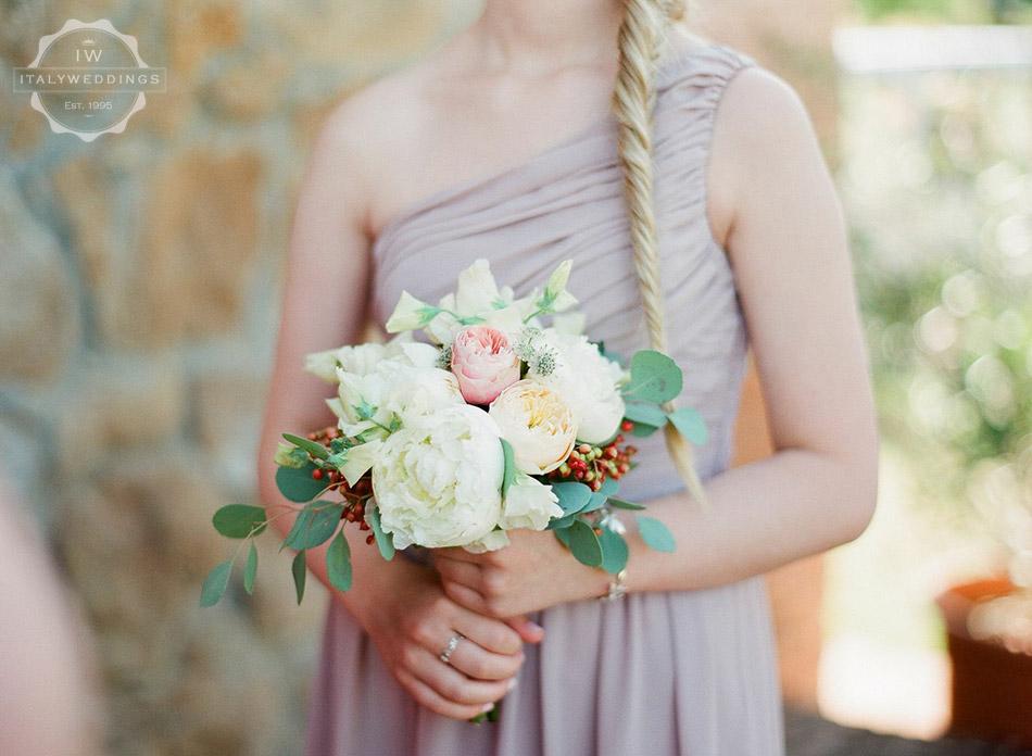 Ciara and Mark bridesmaid bouquet