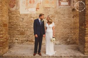Hannah and Daniel San Gimignano wedding