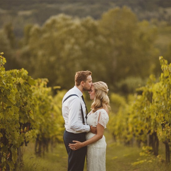 Hannah and Daniel vineyards