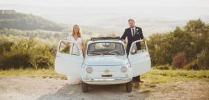Hannah and Daniel Fiat 500