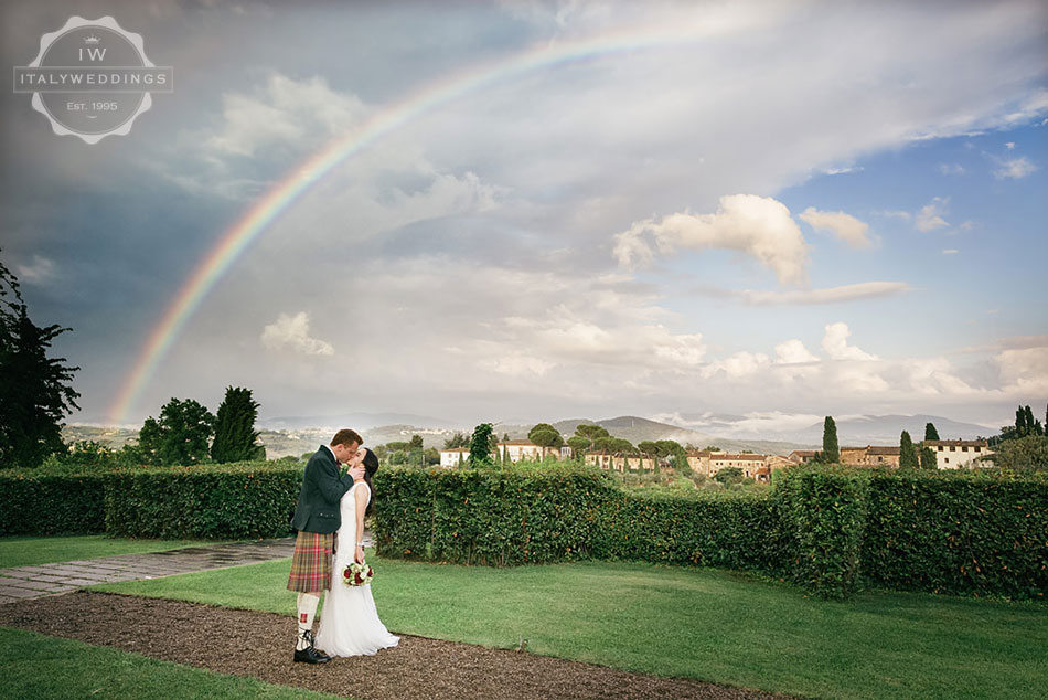 Hiba and David, Tuscan views