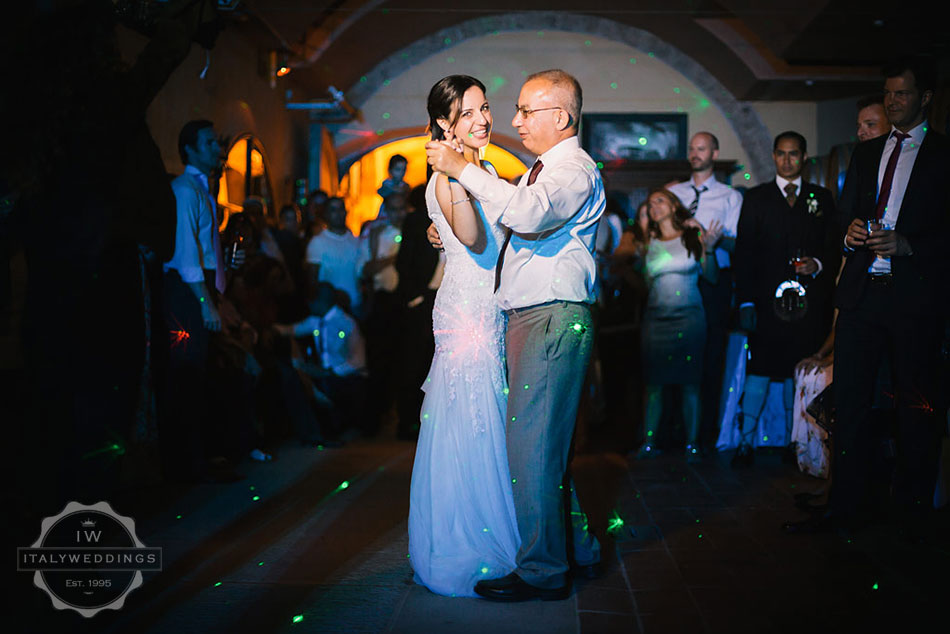 Hiba and David, dancing