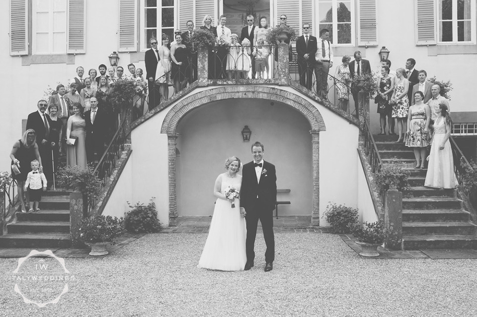 Ingrid and Anders, villa wedding