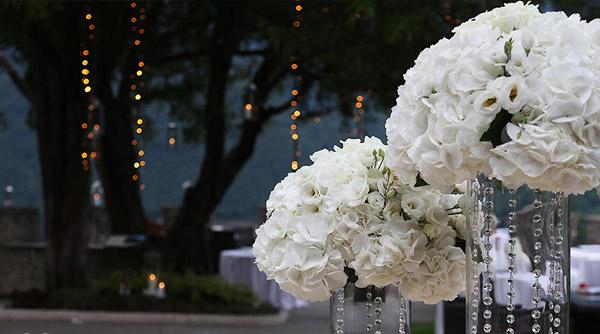 Wedding hanging lighting