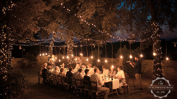 Wedding hanging lighting