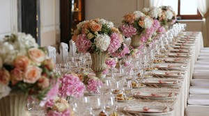 ivory wedding table