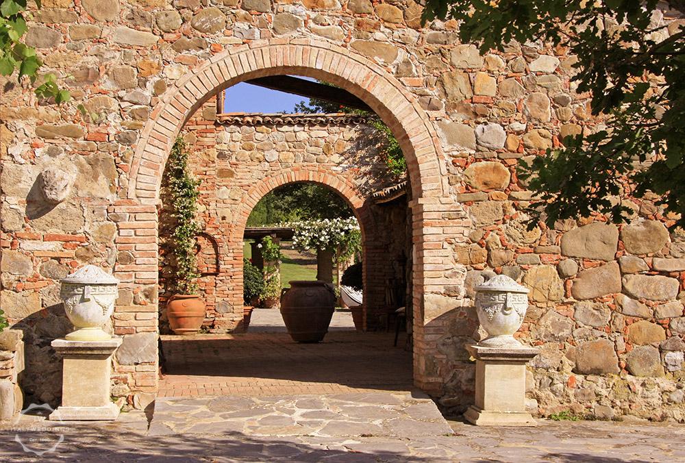 Pienza villa wedding venue