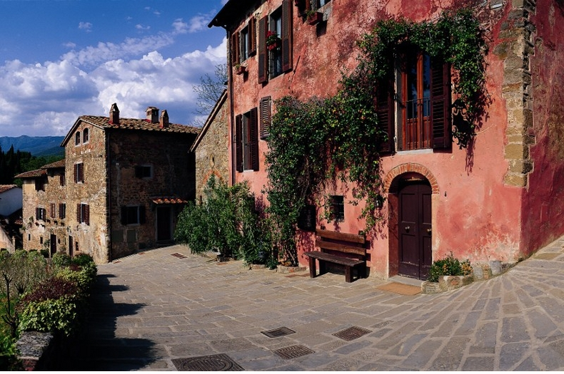 Tuscany Villa weddingconverted village Il Borro