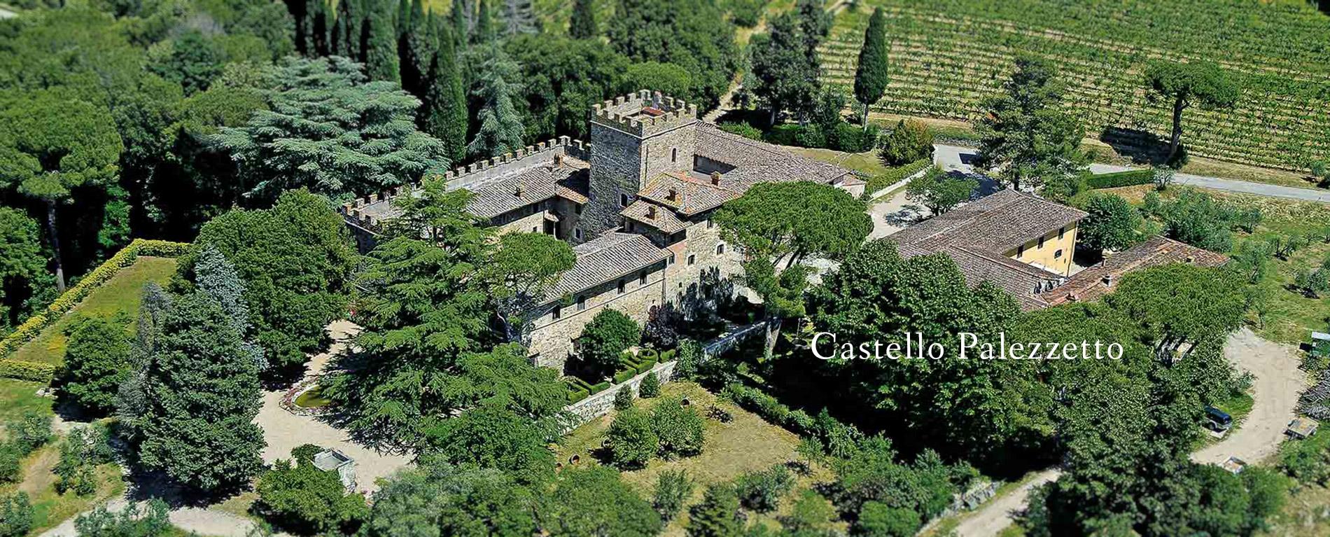 Tuscan wedding caslte