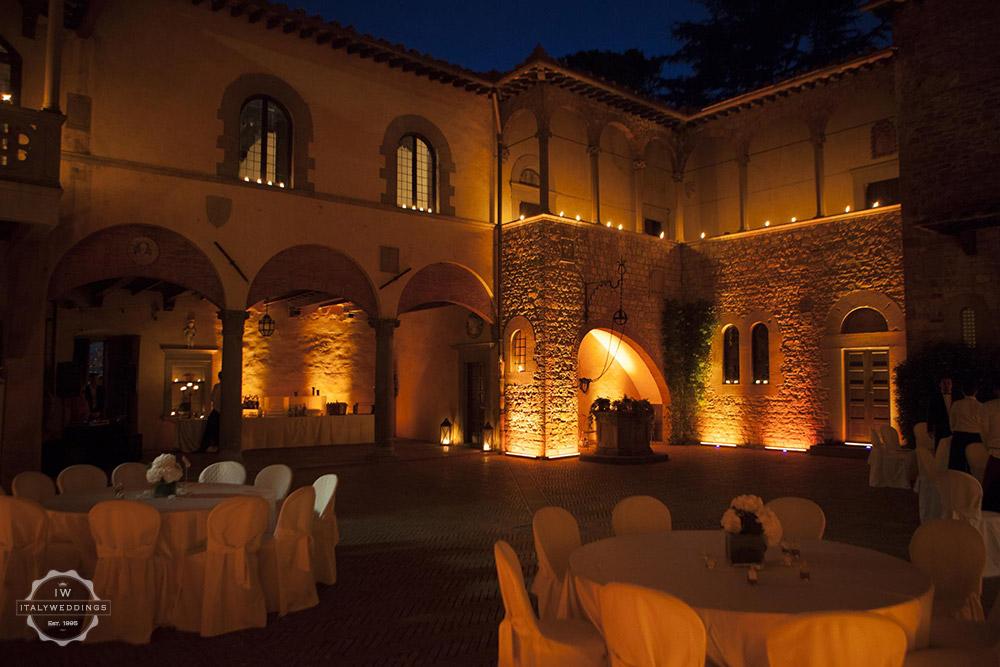 castle wedding
