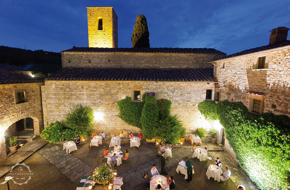 chianti castle wedding