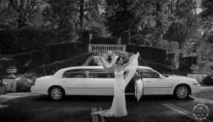 Bridal car limo