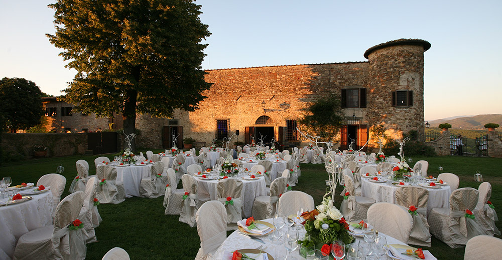 wedding castle chianti tuscany