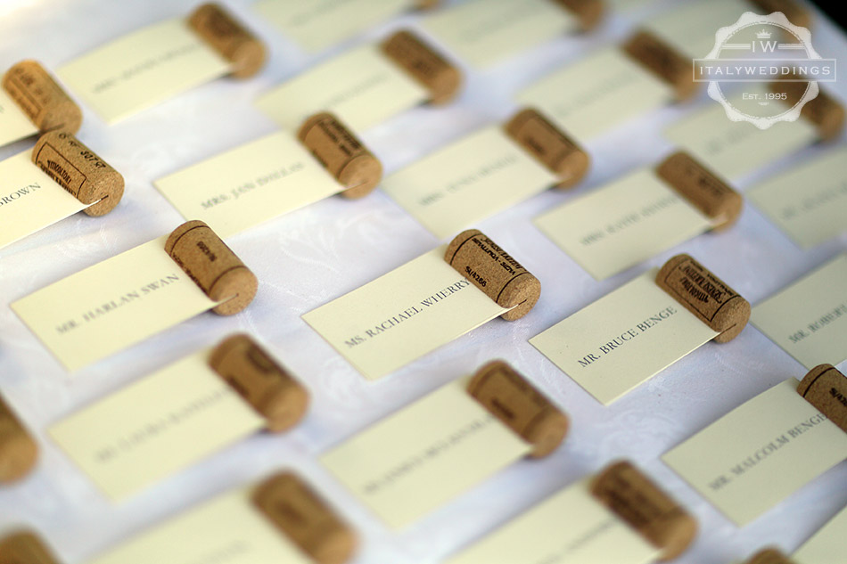 cork name cards