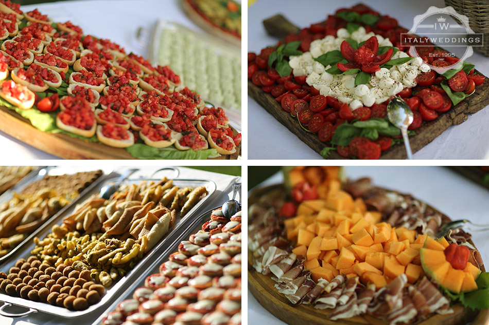 canapes italian wedding