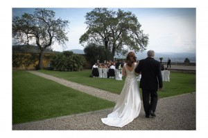 Florence wedding villa blessing ceremony