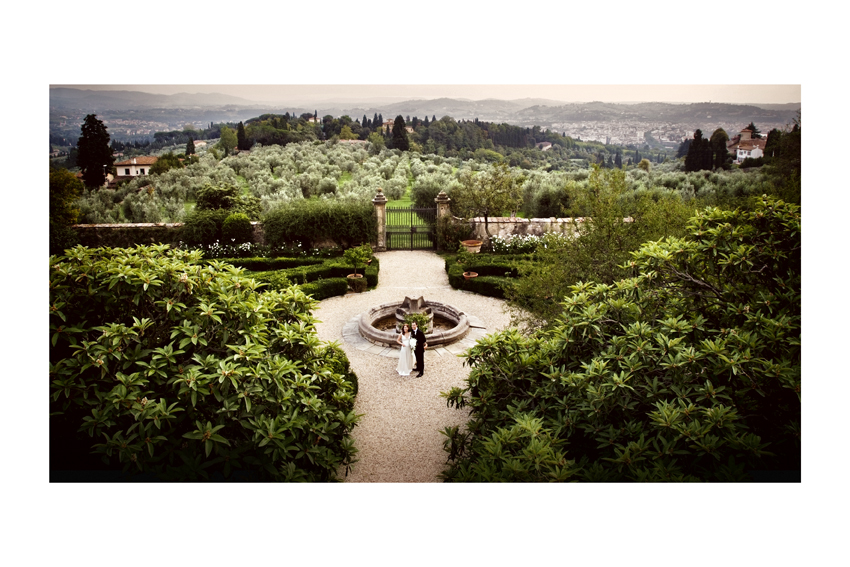 Florence wedding villa Maiano