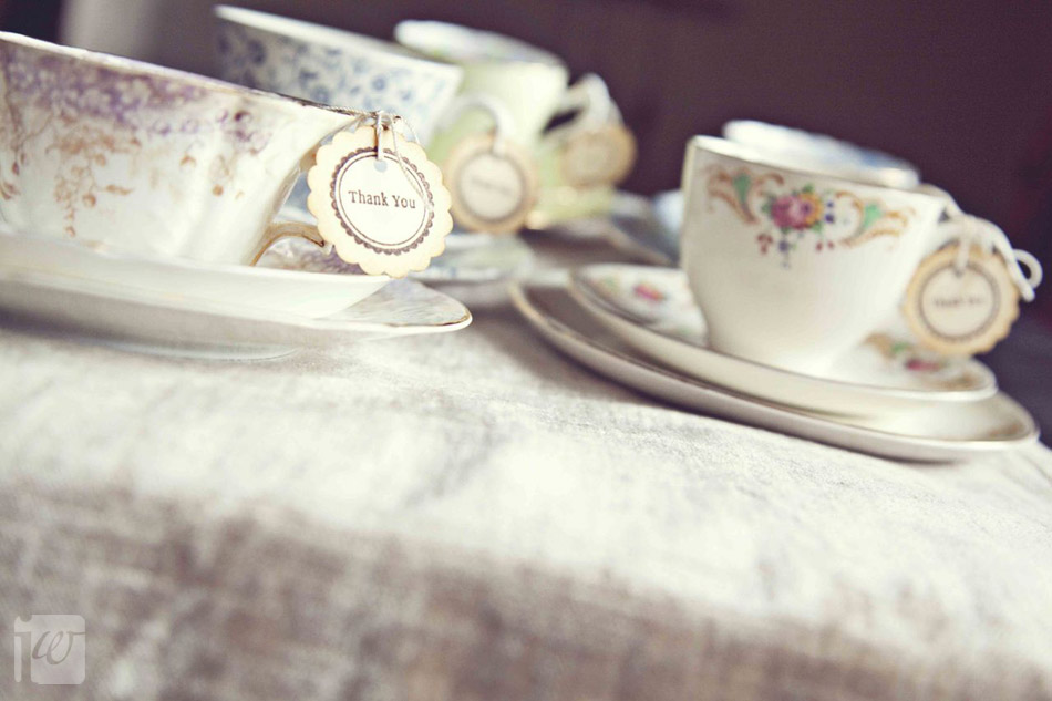 vintage teacup wedding decorations
