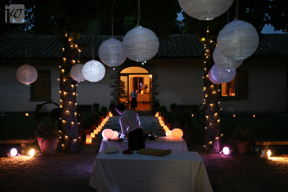 paper lantern wedding decoration