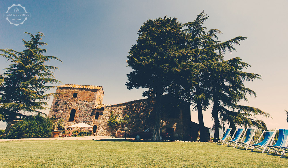 Wedding villa San Gimignano