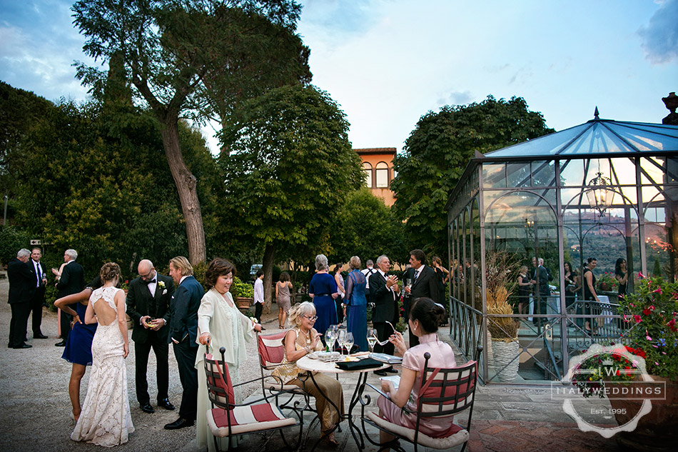 cortona villa wedding