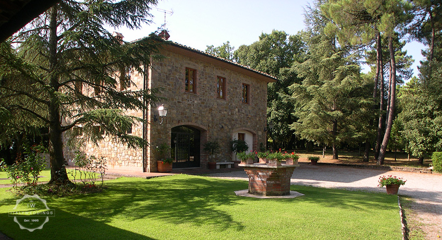 small wedding villa San Gimignano
