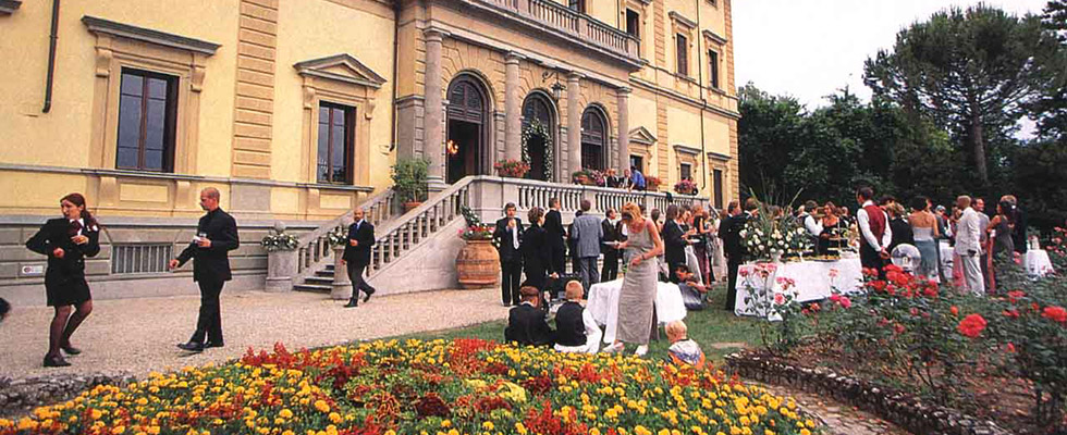 formal wedding villa Florence