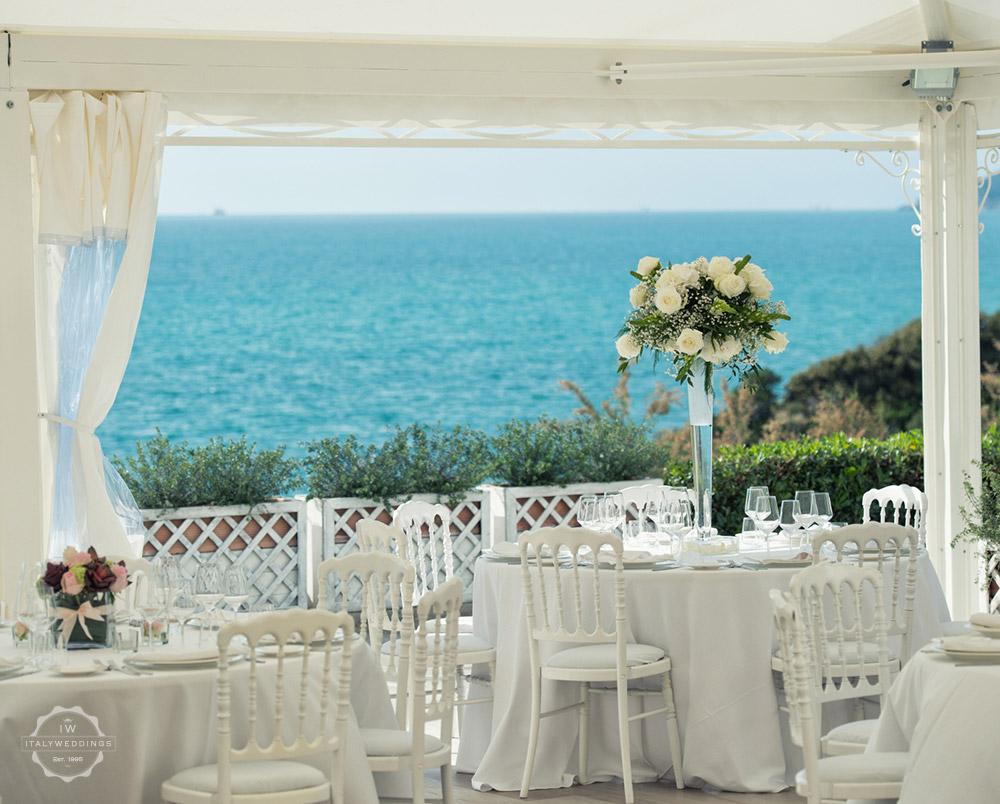Wedding villa Hotel Tuscan coast