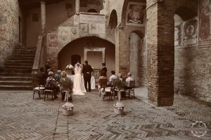 San Gimignano town hall wedding