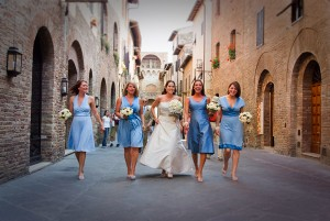 San Gimignano streets