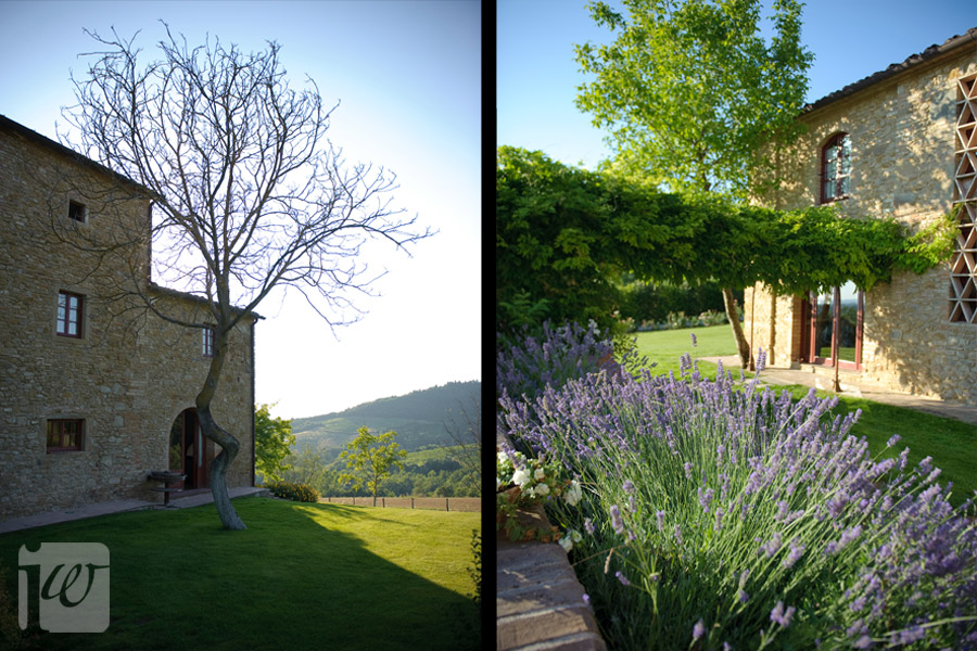 tuscan wedding villa