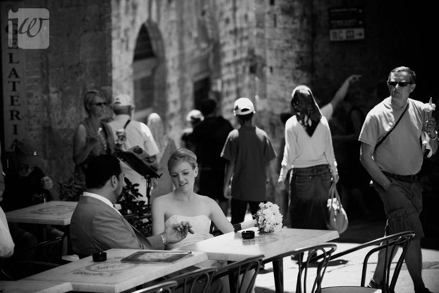 san Gimignano wedding