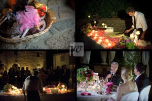 cake and speeches