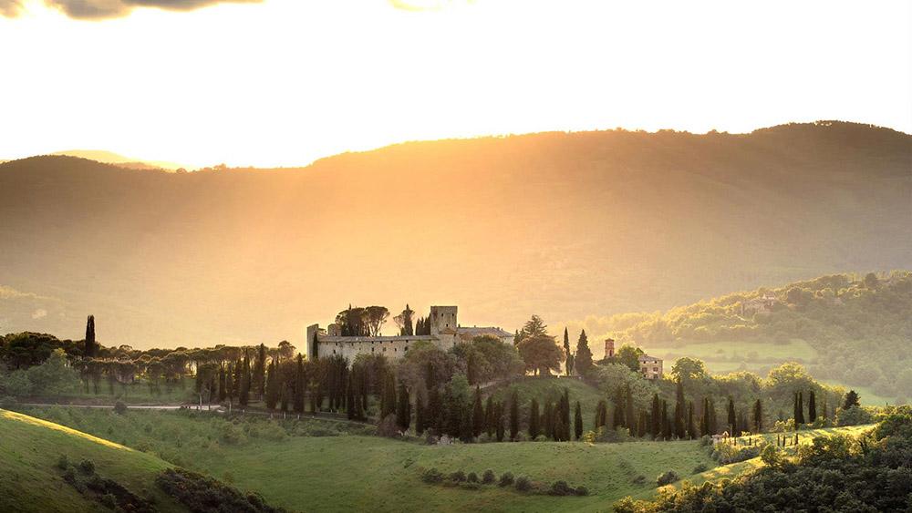 wedding castle Chianti Tuscany