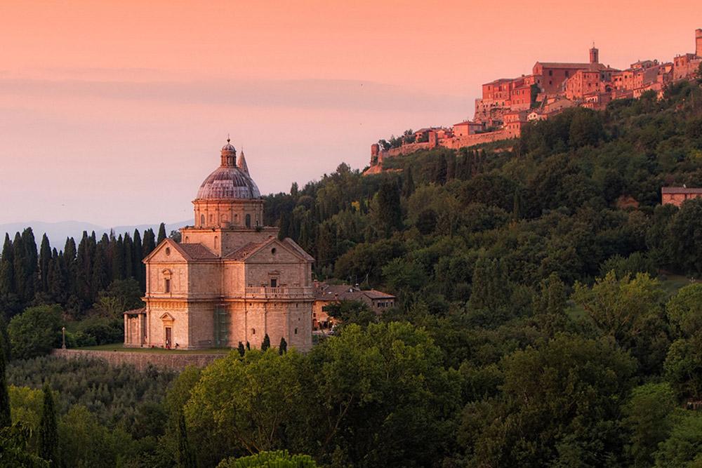 Tuscan hilltop village