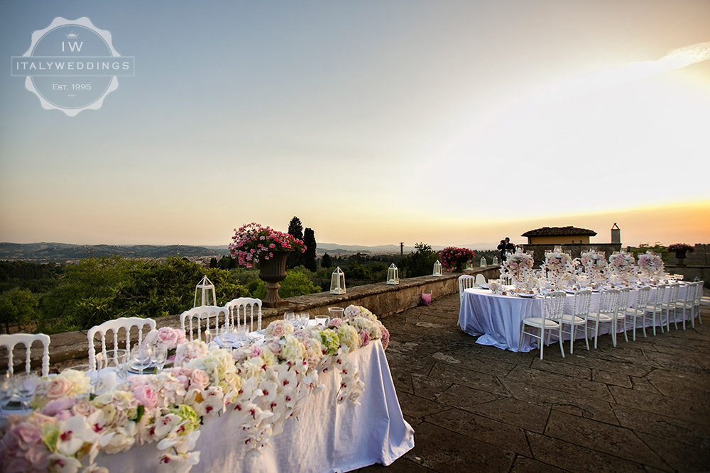 Villa Maiano wedding Florence