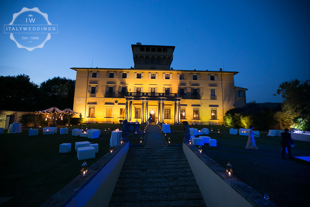 Villa Maiano wedding