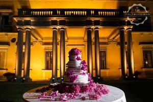 Villa Maiano wedding cake