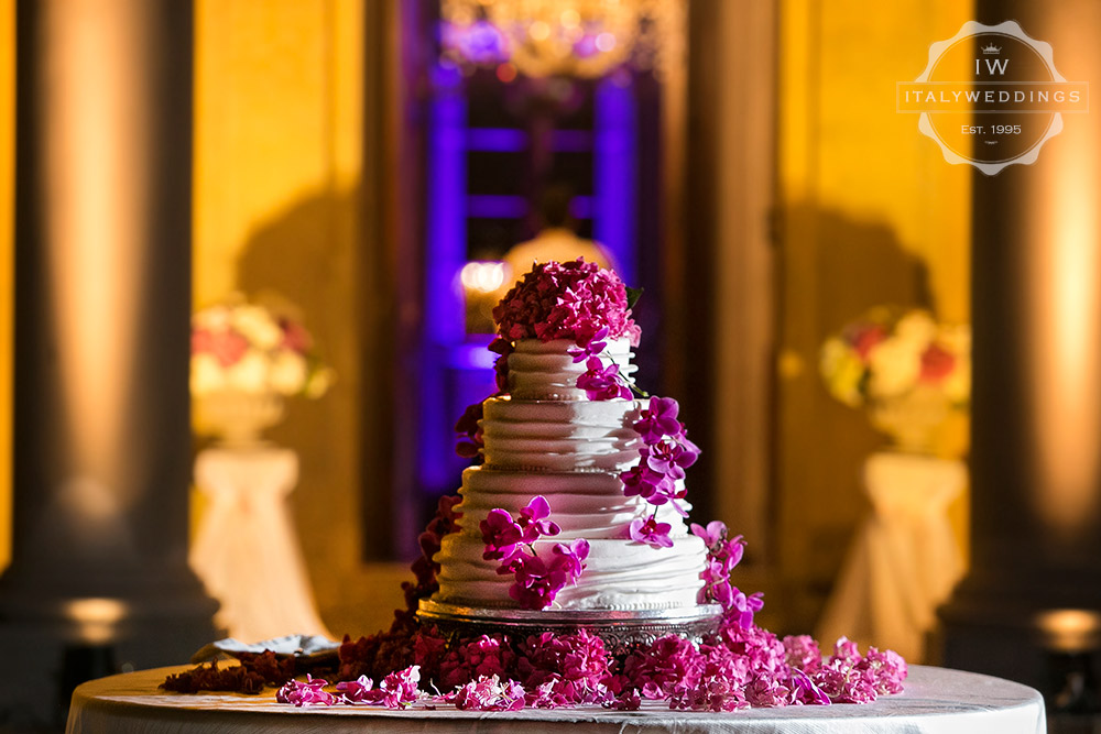 Villa Maiano wedding cake