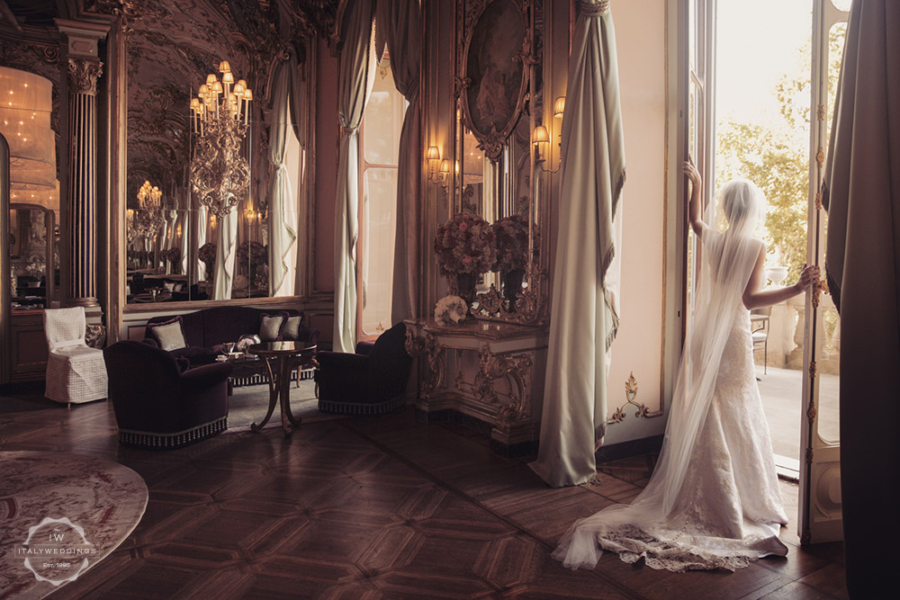 Wedding venue villa Cora Florence halls