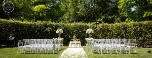 Wedding venue villa Cora Florence blessing