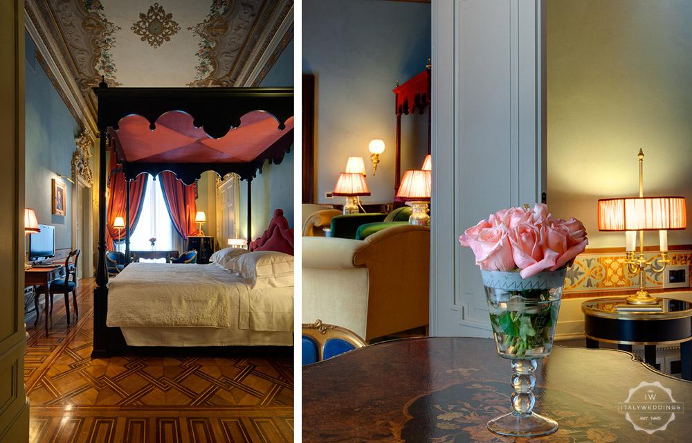 Wedding venue villa Cora Florence suite