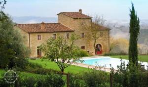 Tuscany villa stone facade